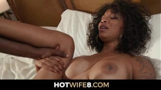 Hot Ebony Queen Fucks Stud Selected By Her Husband
